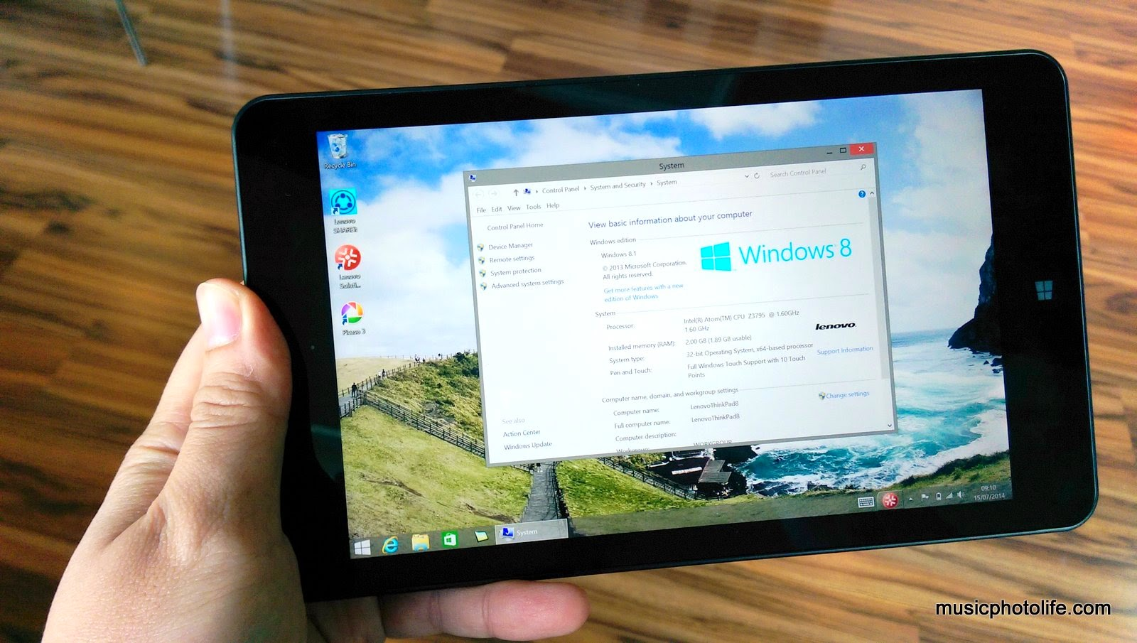 Lenovo ThinkPad 8: 8.3-inch Windows Tablet Review