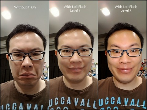 Asus LolliFlash Test Front Camera