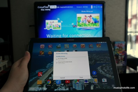 EasyCast OTA on Samsung Galaxy Note PRO