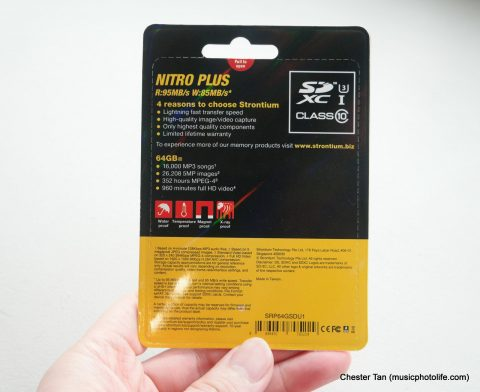 Strontium Nitro Plus SDXC review by musicphotolife.com