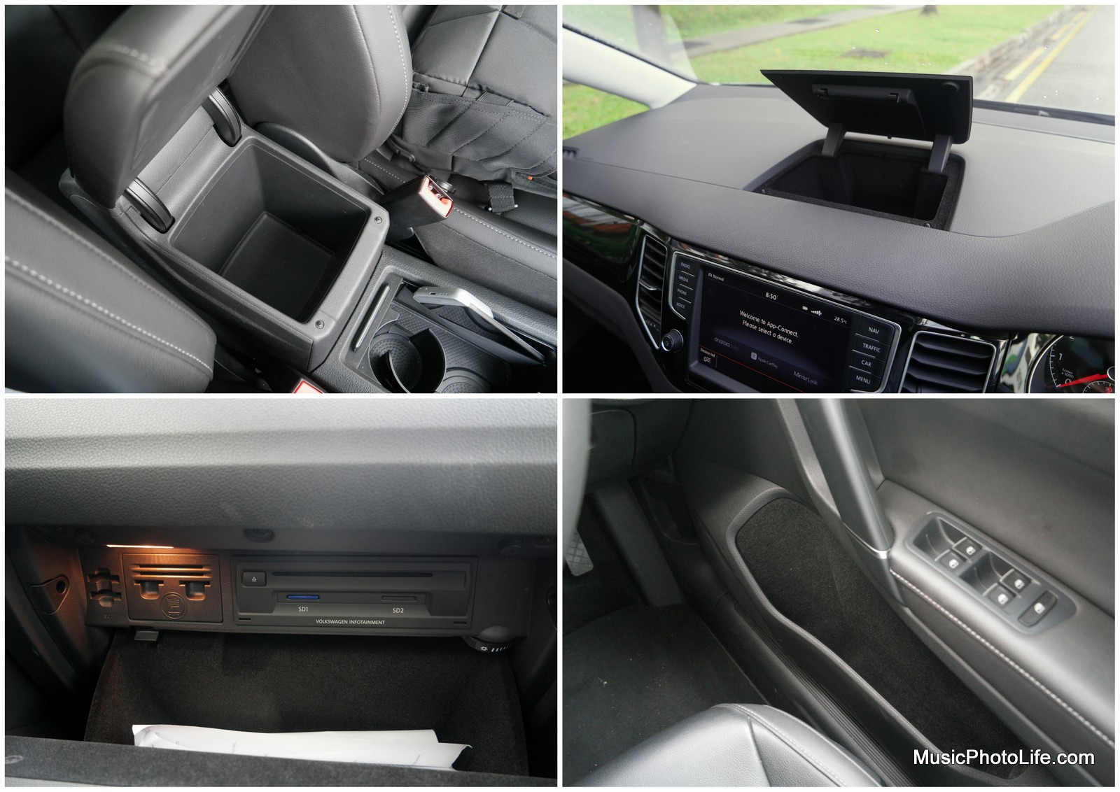 Volkswagen Sportsvan compartments