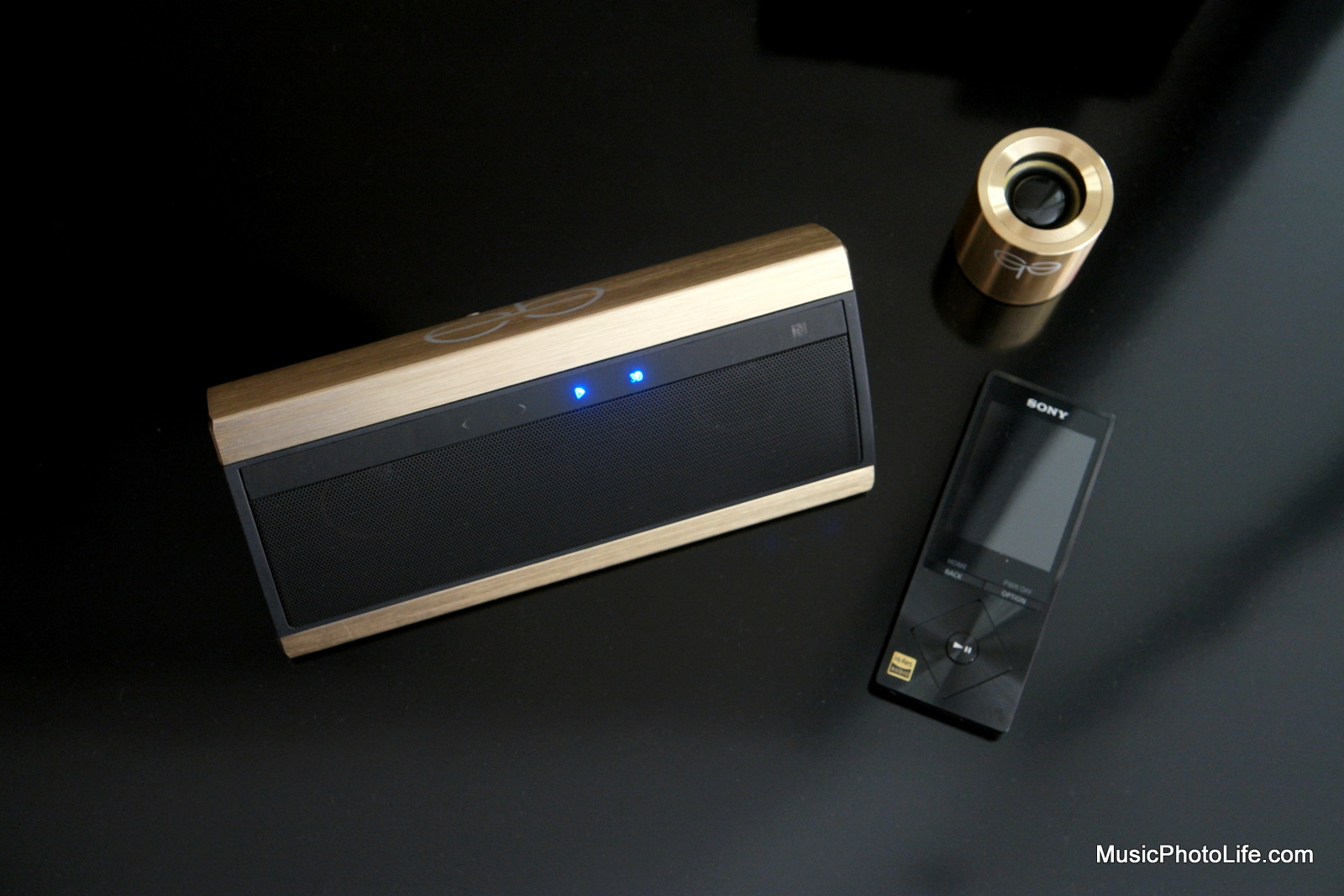 GoldTouch Asia Leprechaun and Goliath wireless speakers