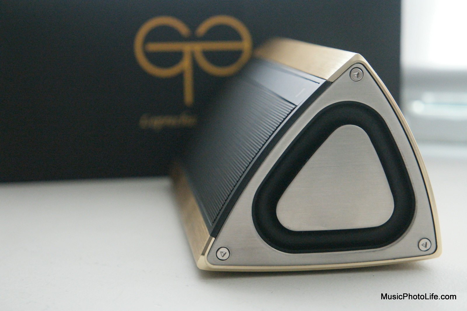 GoldTouch Asia Goliath bass radiators close up