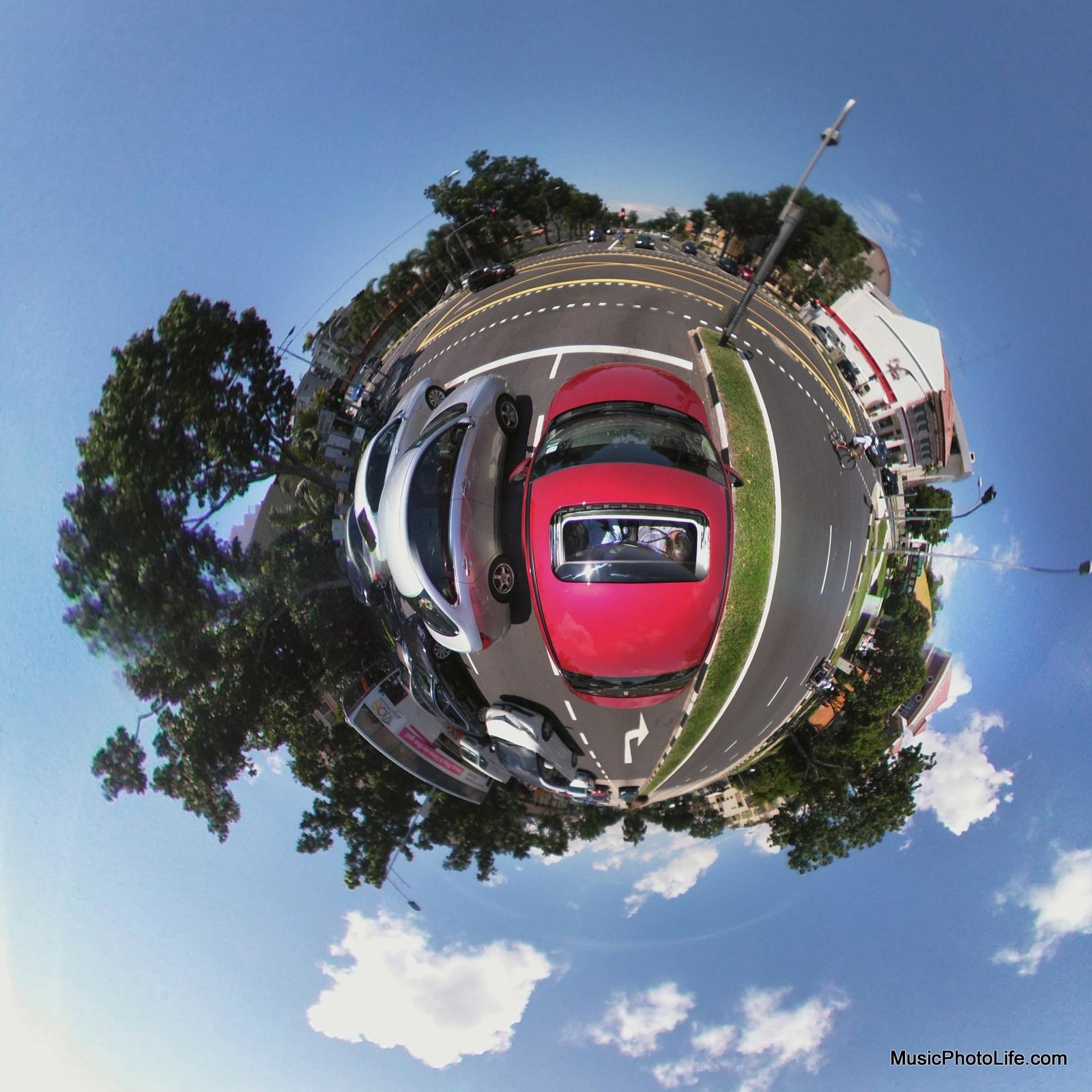 LG 360 CAM - little planet