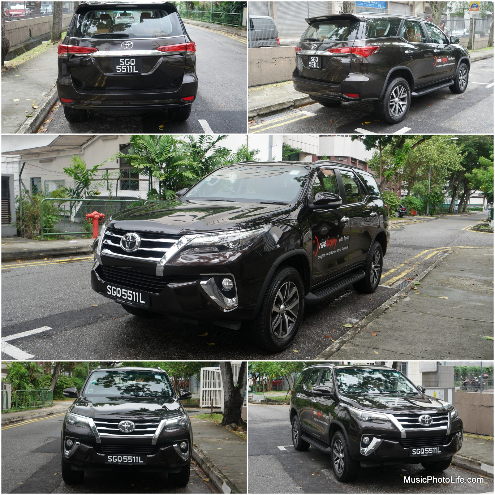 Toyota Fortuner collage