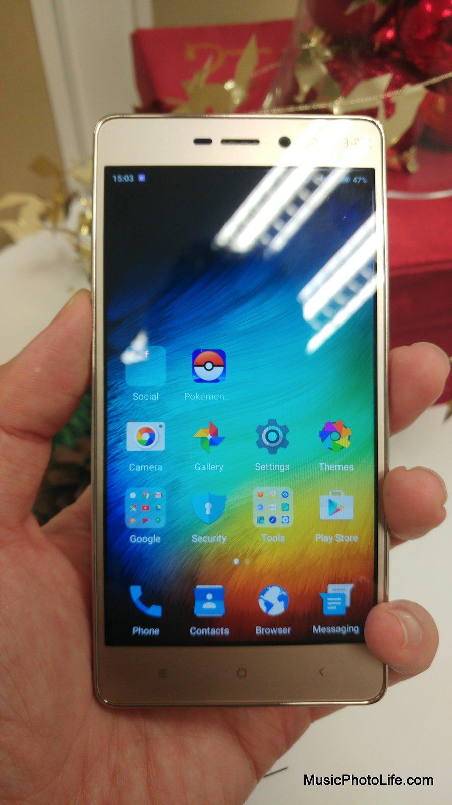 Xiaomi Redmi 3s review my musicphotolife.com