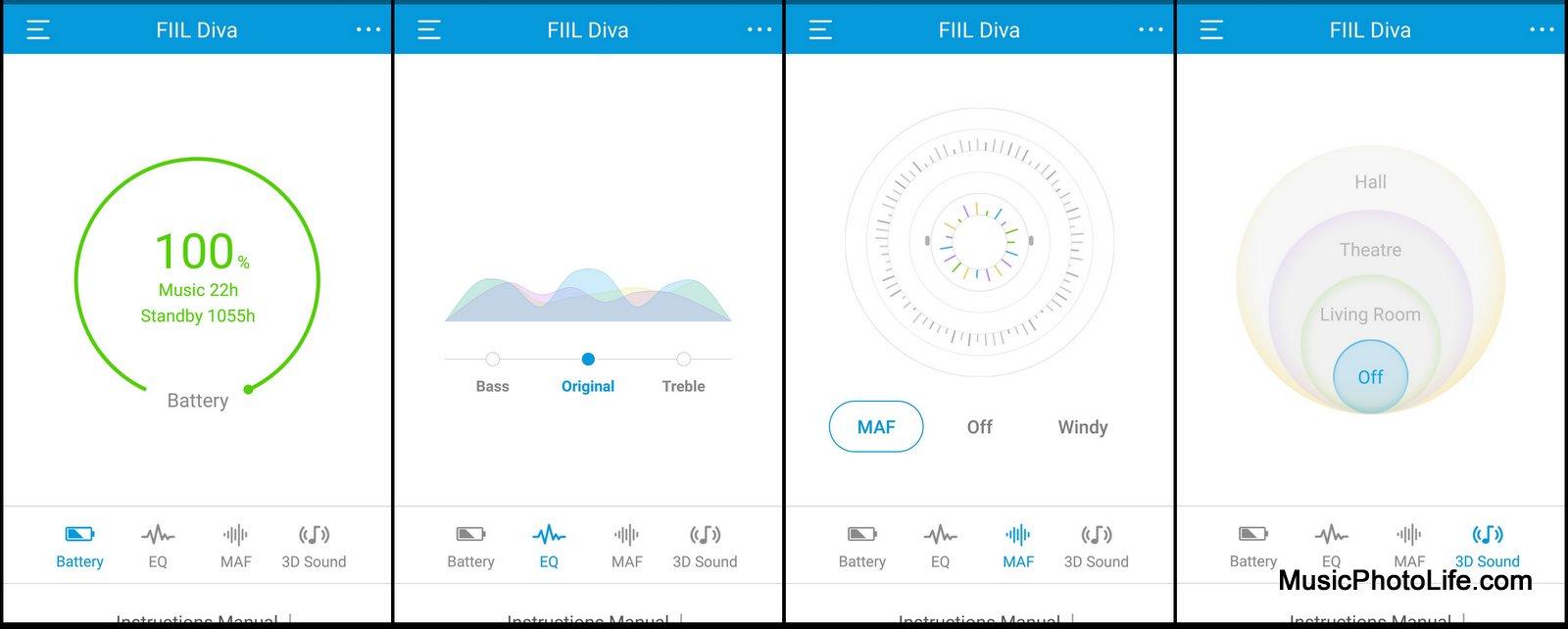 FIIL+ app review by musicphotolife.com