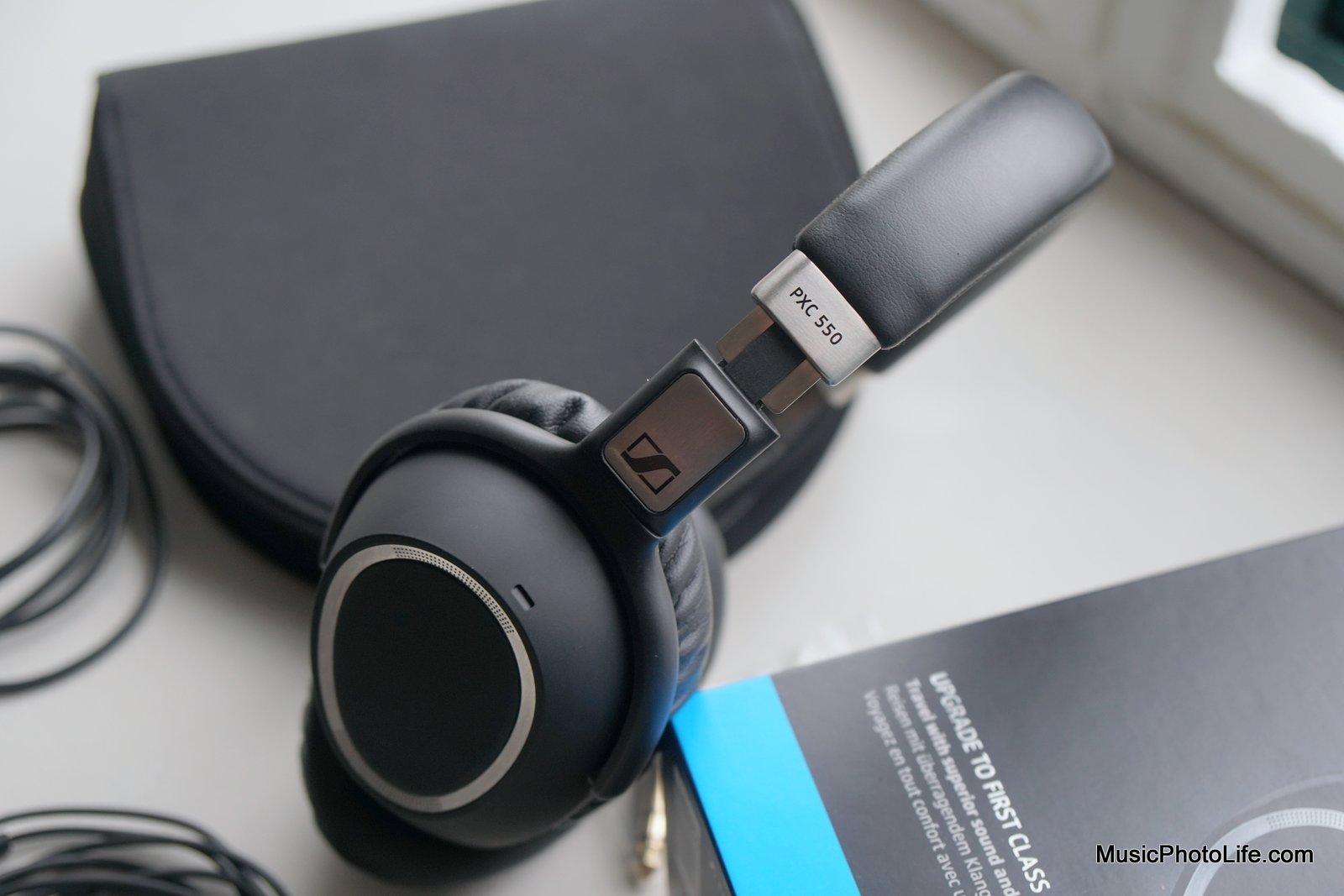 Sennheiser PXC550 review by musicphotolife.com