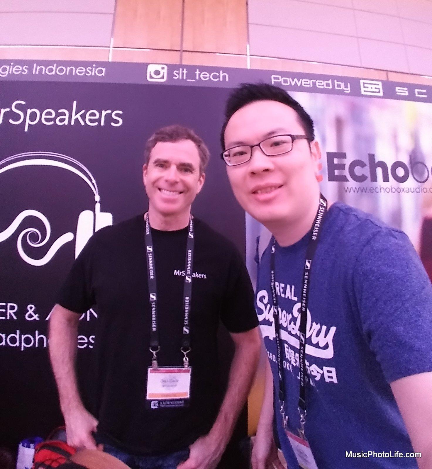 Dan Clark of MrSpeakers at CanJam Singapore 2017