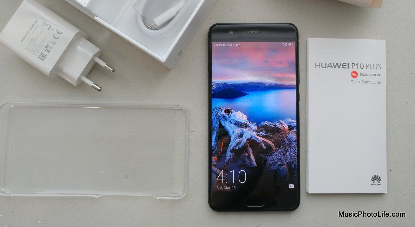 Huawei P10 Plus review by musicphotolife.com