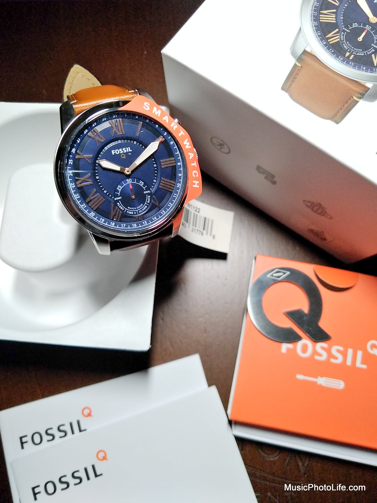 Fossil Q Grant - unboxing