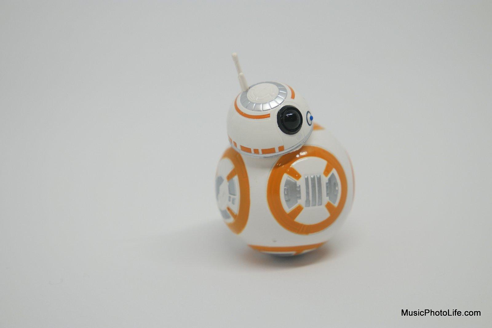 Star Wars BB-8 shot on Whitebox Lightbox review by musicphotolife.com