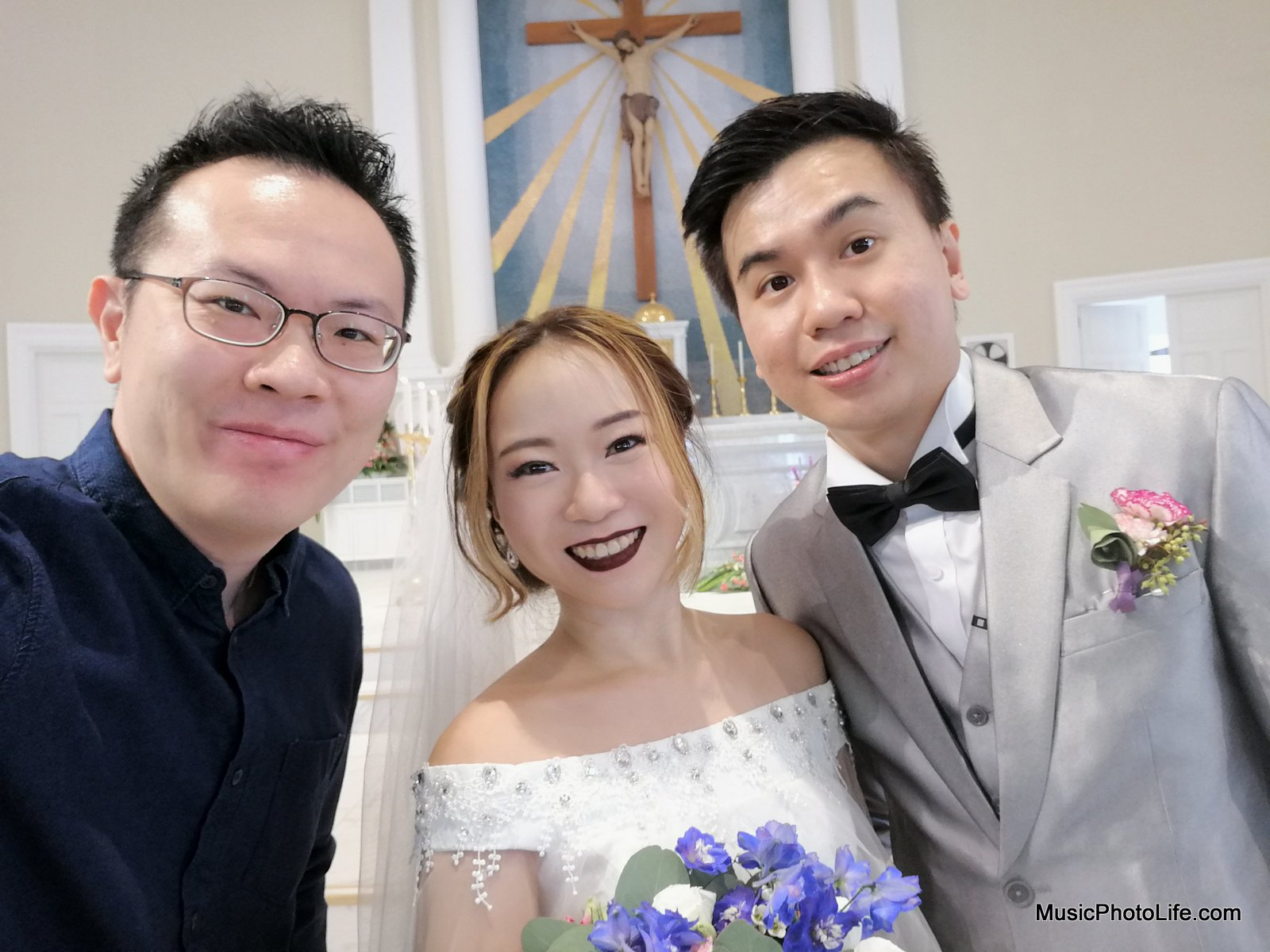 De Xin Wedding at Cathedral of the Good Shepherd