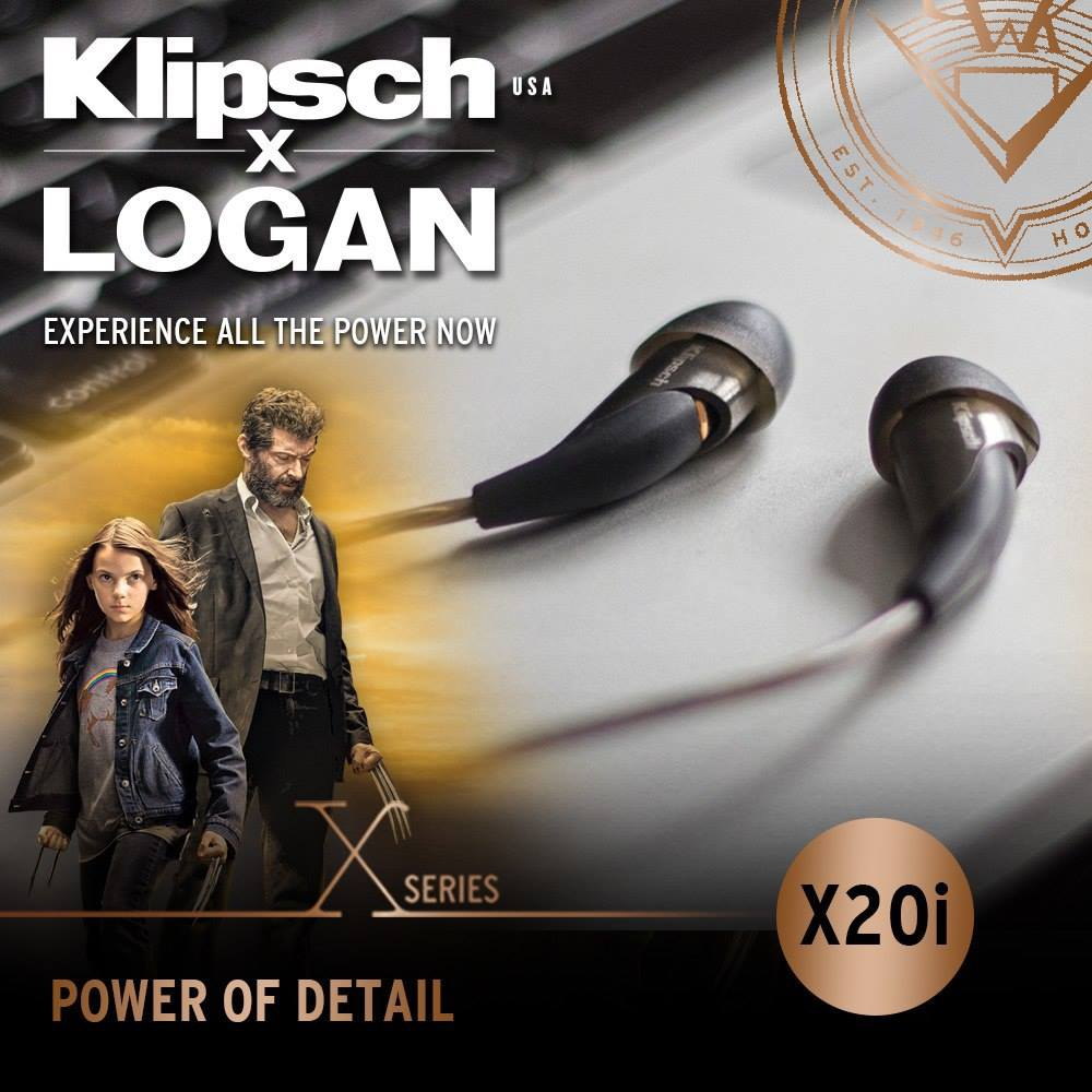 Klipsch X Logan Promotion Singapore X20i
