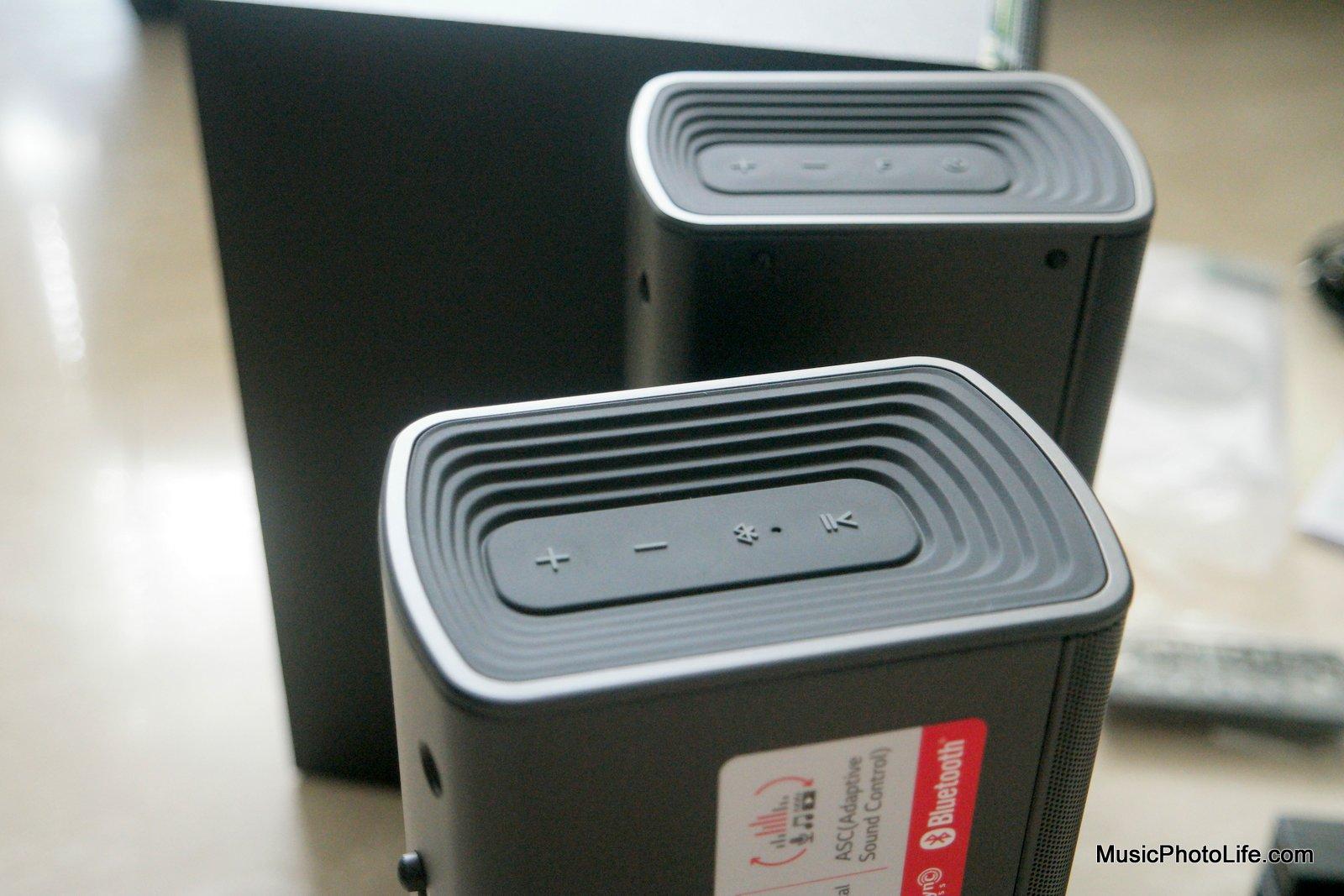 LG Sound Bar Flex SJ7 review by musicphotolife.com