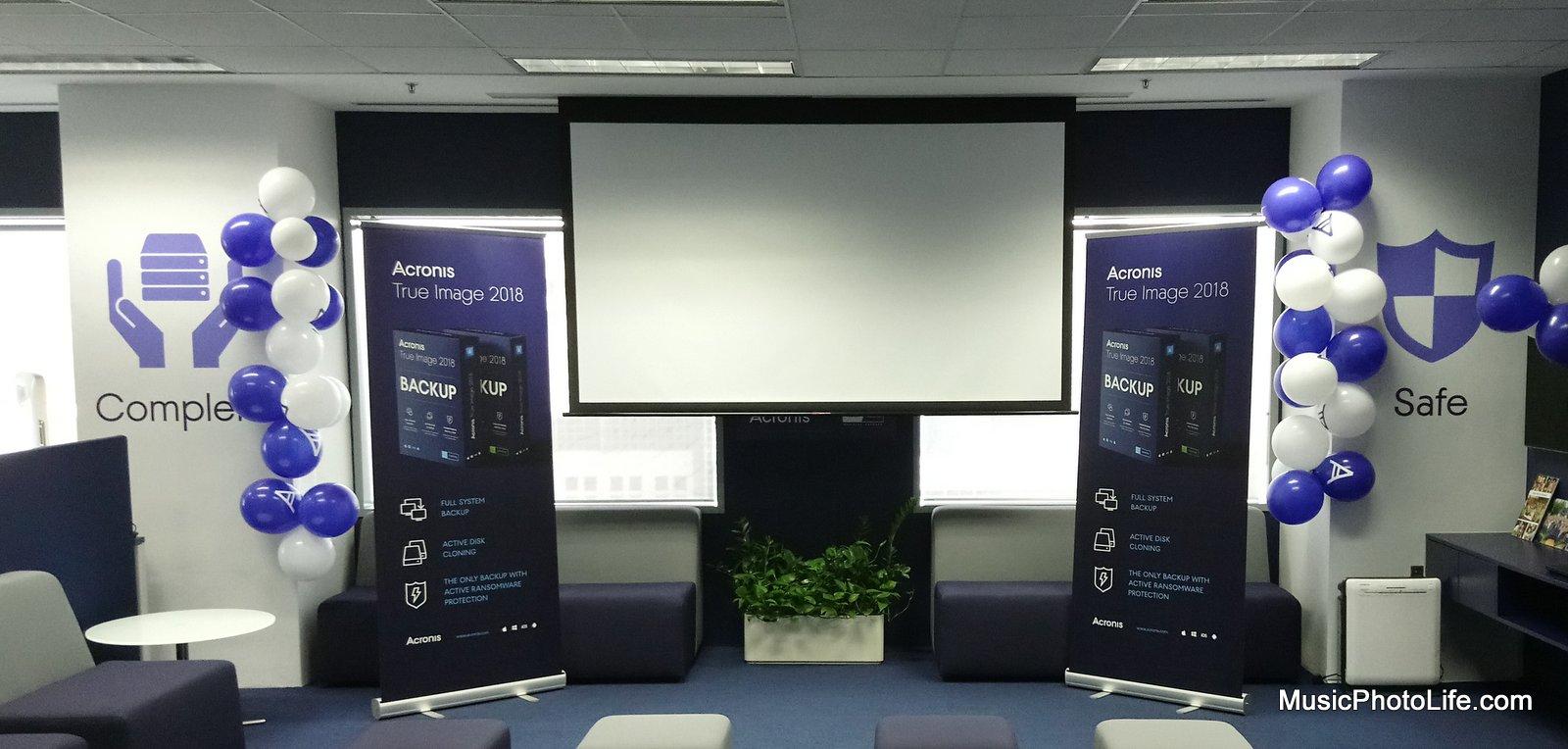 Acronis True Image 2018 launch event in Singapore