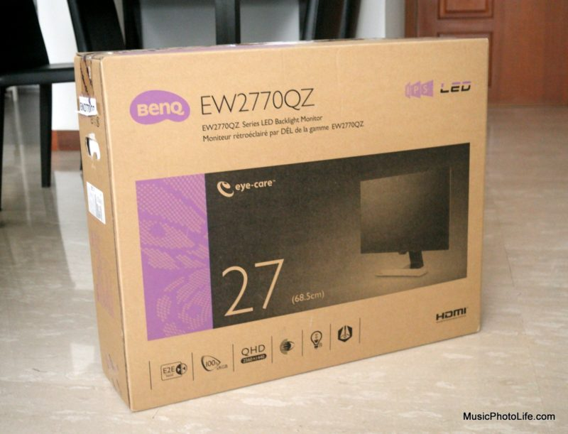 BenQ EW2770QZ Eye-Care Monitor box