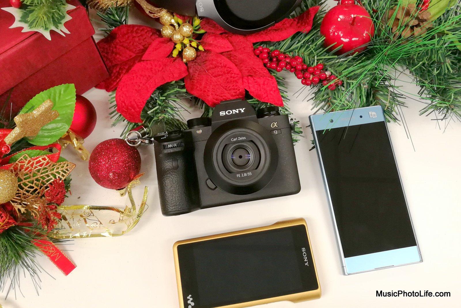 Sony A9 WM1Z WH1000XM2 Xperia XA1 Plus