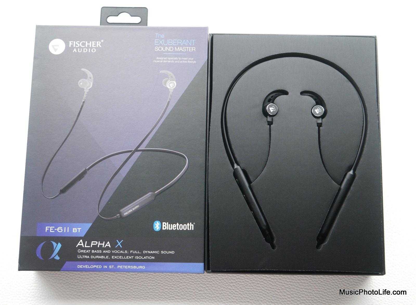 Fischer Audio Alpha X FE-611BT retail box