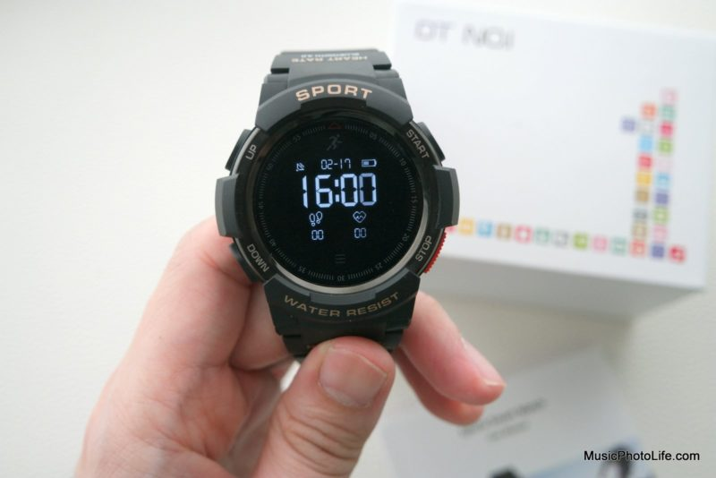 NO.1 F6 Smartwatch front view