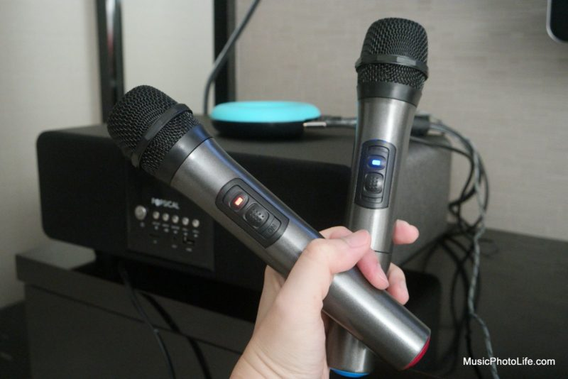Popsical Sound system microphones