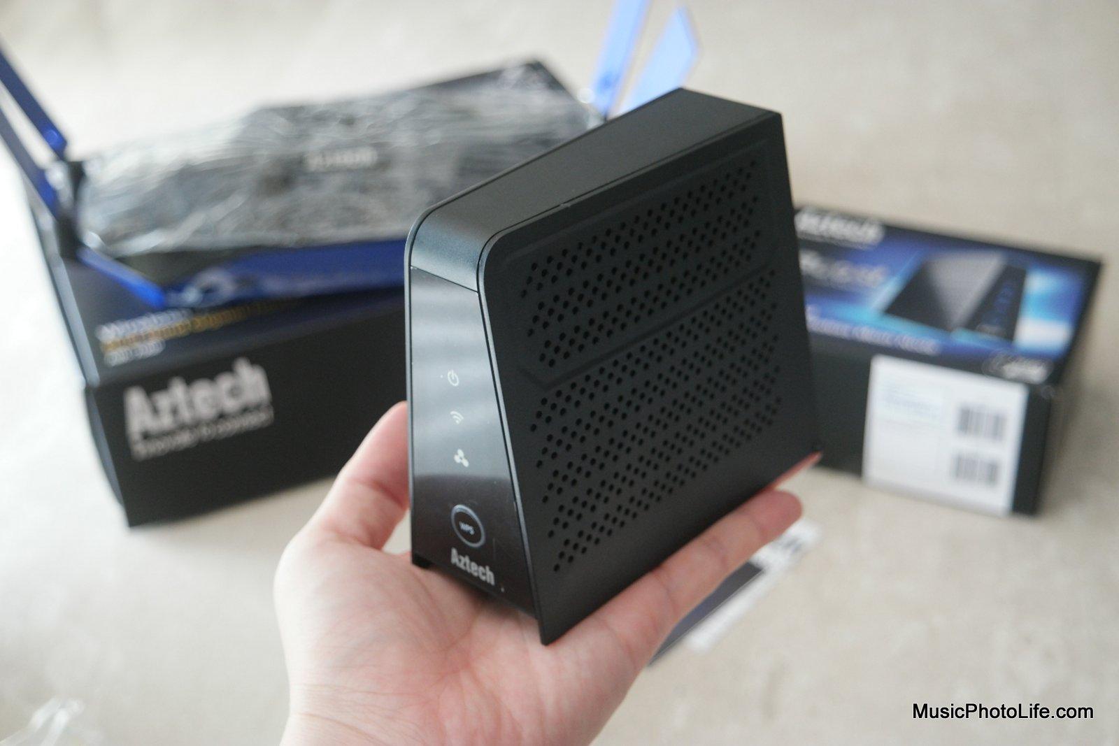 Aztech WMB260(AC) mesh node review by musicphotolife.com
