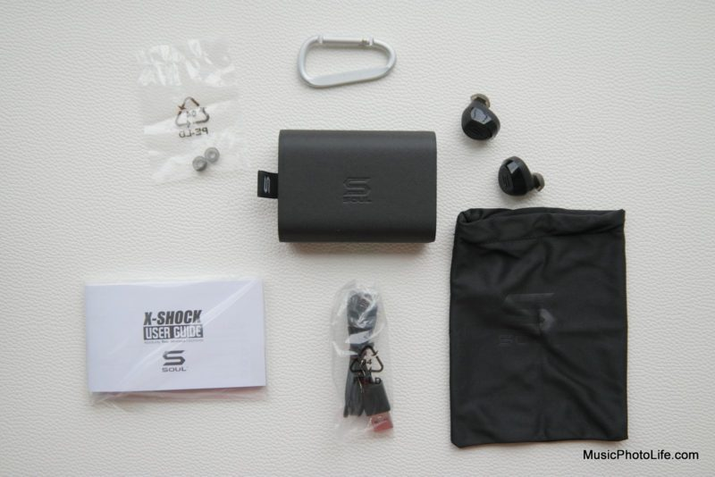 SOUL X-SHOCK True Wireless Sport Earbuds unboxing review by musicphotolife.com