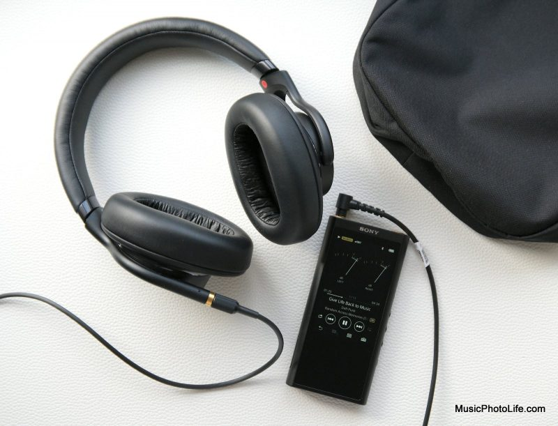 Sony MDR-1AM2 headphones and NW-ZX300 Walkman