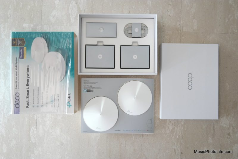 TP-Link Deco M9 Plus unboxing review by Singapore consumer tech gadget review site musicphotolife.com