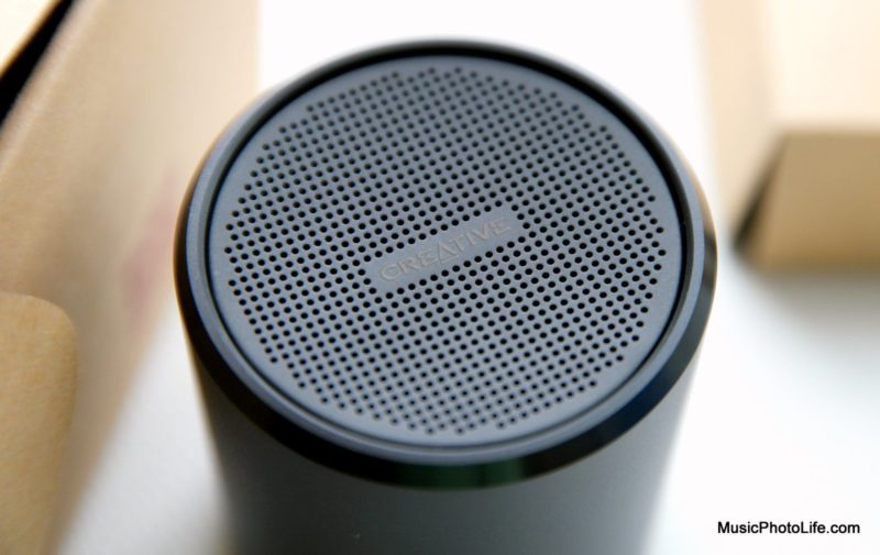 Creative Metallix Bluetooth Wireless Speaker review by musicphotolife.com, Singapore consumer tech blog