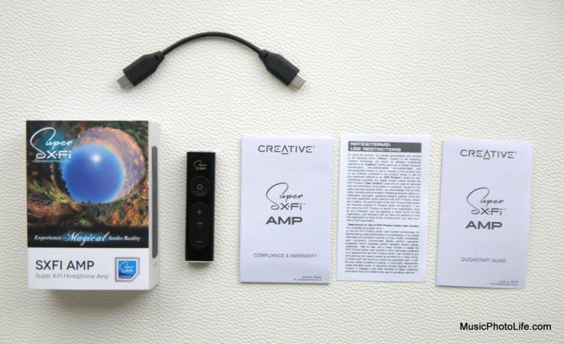 Creative Super X-Fi Amp unboxing review by musicphotolife.com, Singapore consumer audio blog