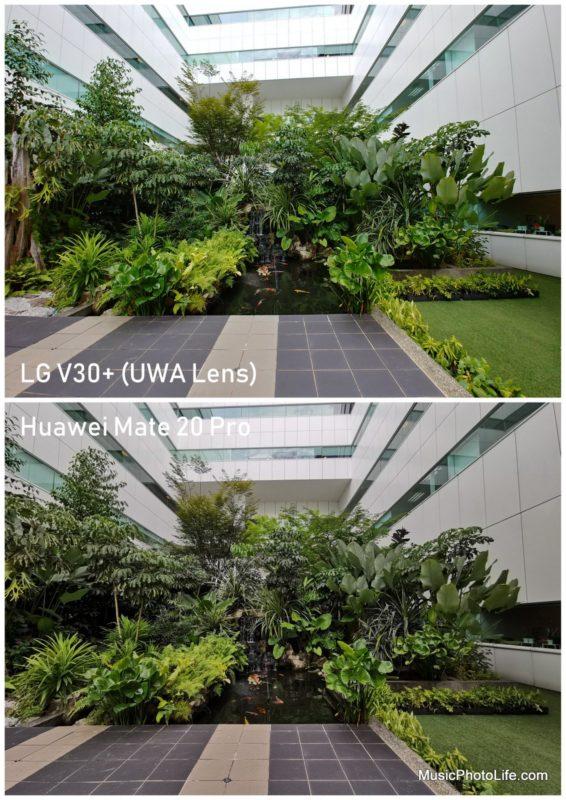 Huawei Mate 20 Pro vs. LG V30+