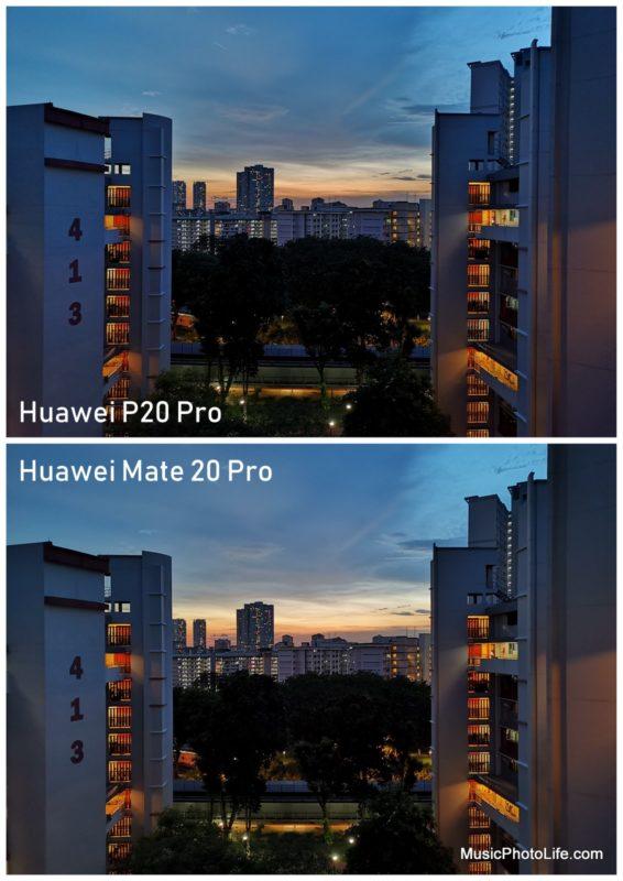 Huawei Mate 20 Pro vs. Huawei P20 Pro
