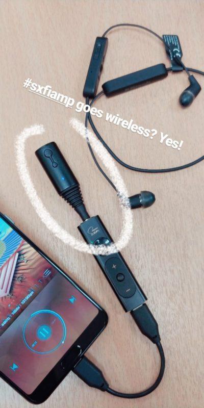 SXFI Amp and Hagibis Bluetooth Receiver Transmitter