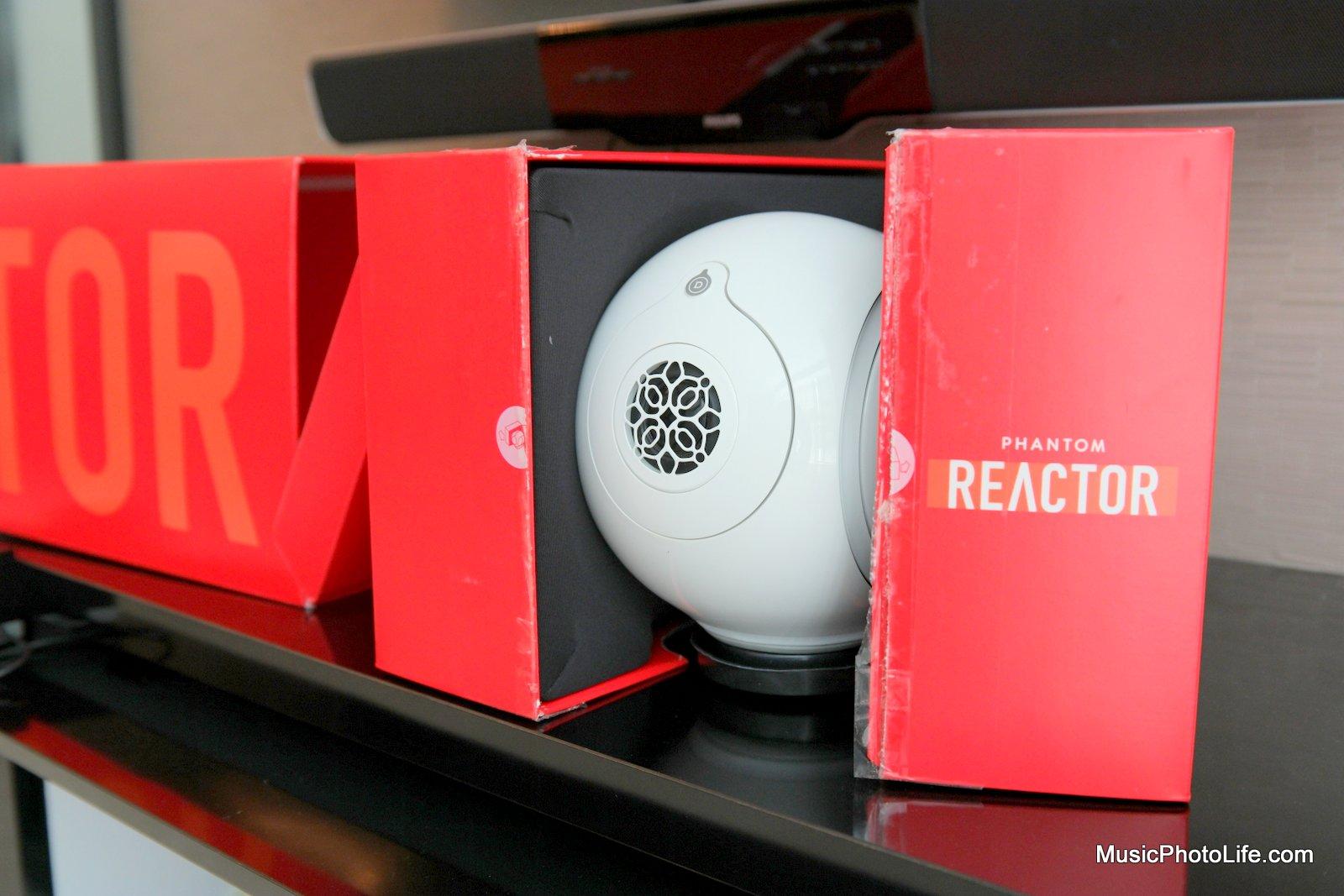 Devialet Phantom Reactor review by musicphotolife.com, Singapore audio blogger
