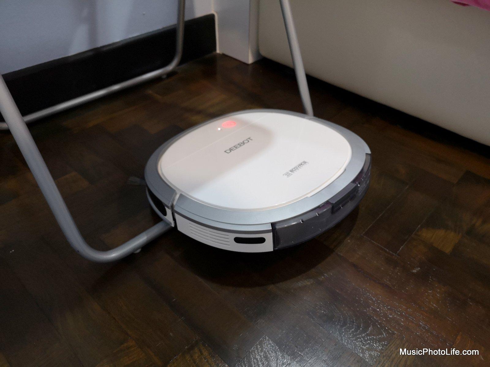 ECOVACS Deebot OZMO Slim11 review by musicphotolife.com, Singapore consumer home tech blogger