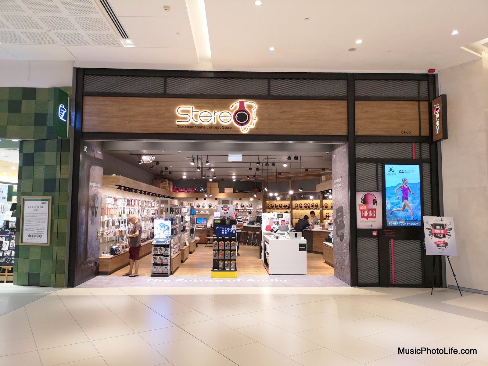 Stereo The Headphone Concept Store Westgate outlet