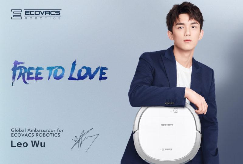 ECOVACS Robotics announced Chinese artiste Leo Wu as their new global ambassador