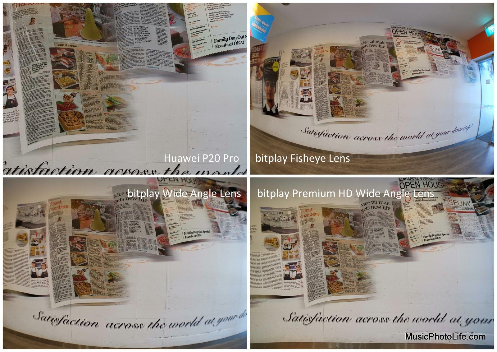bitplay smartphone lens attachment comparison review by musicphotolife.com, Singapore consumer tech blogger