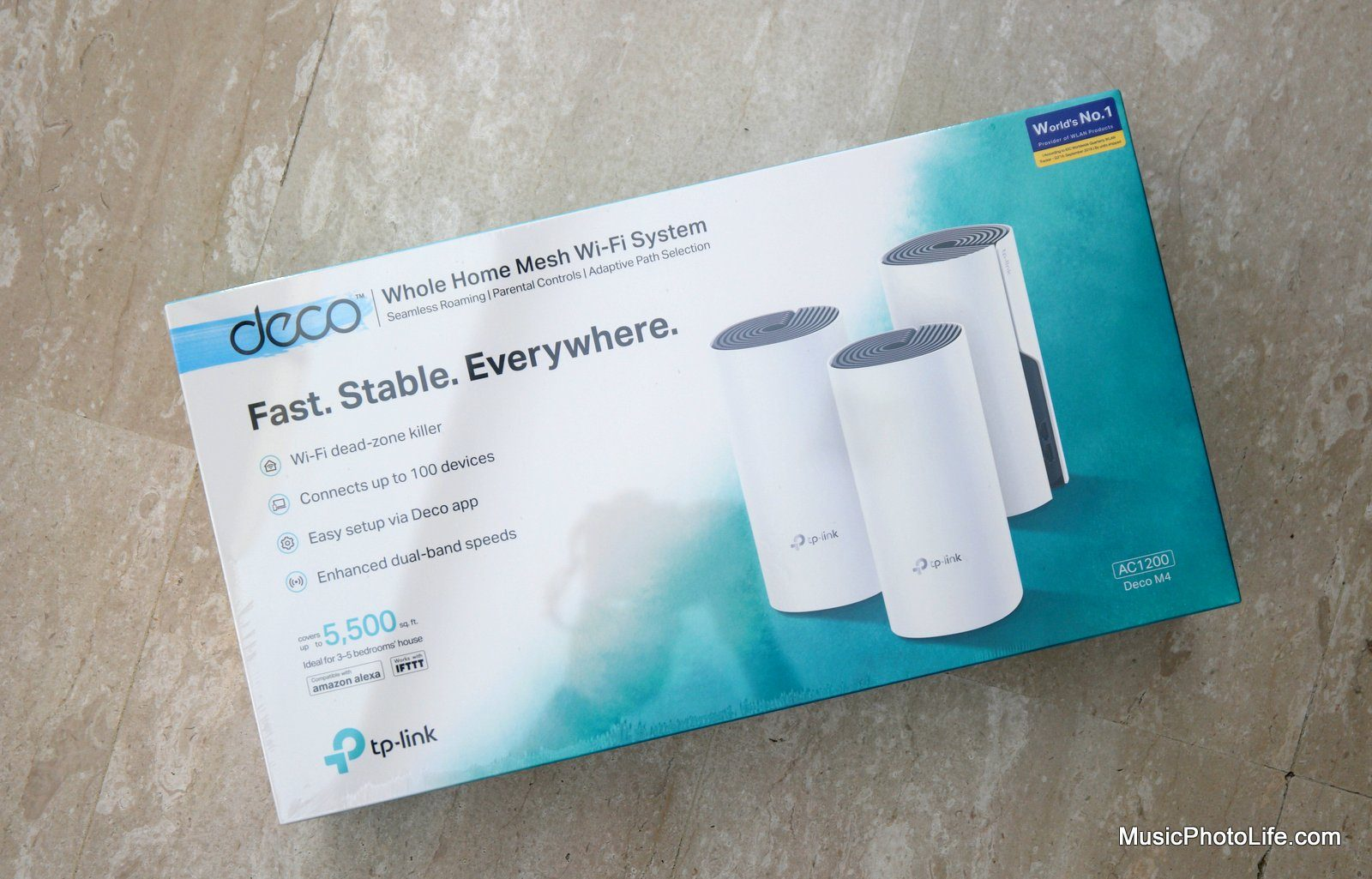 TP-Link Deco M4 review by Chester Tan musicphotolife.com