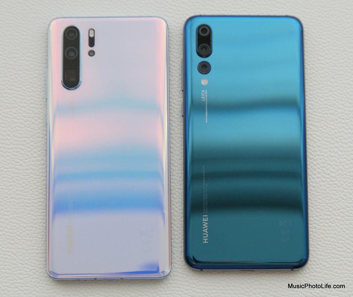 Huawei P30 Pro vs. P20 Pro