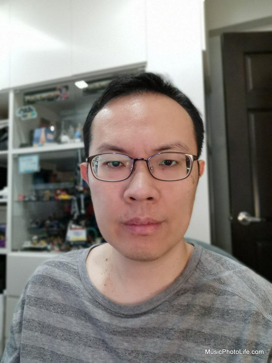 Huawei P30 Pro selfie test shot