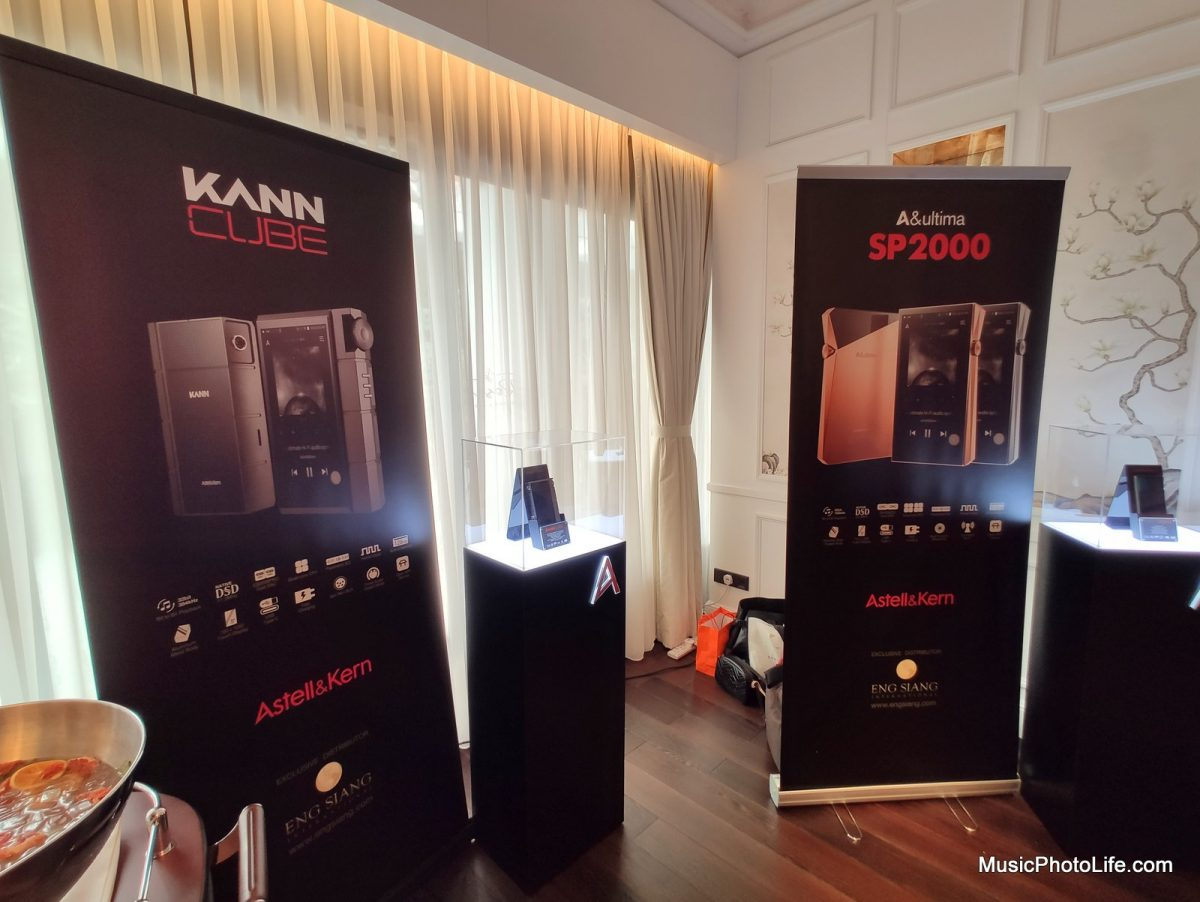 Astell & Kern KANN CUBE and A&Ultima SP2000 at Singapore launch