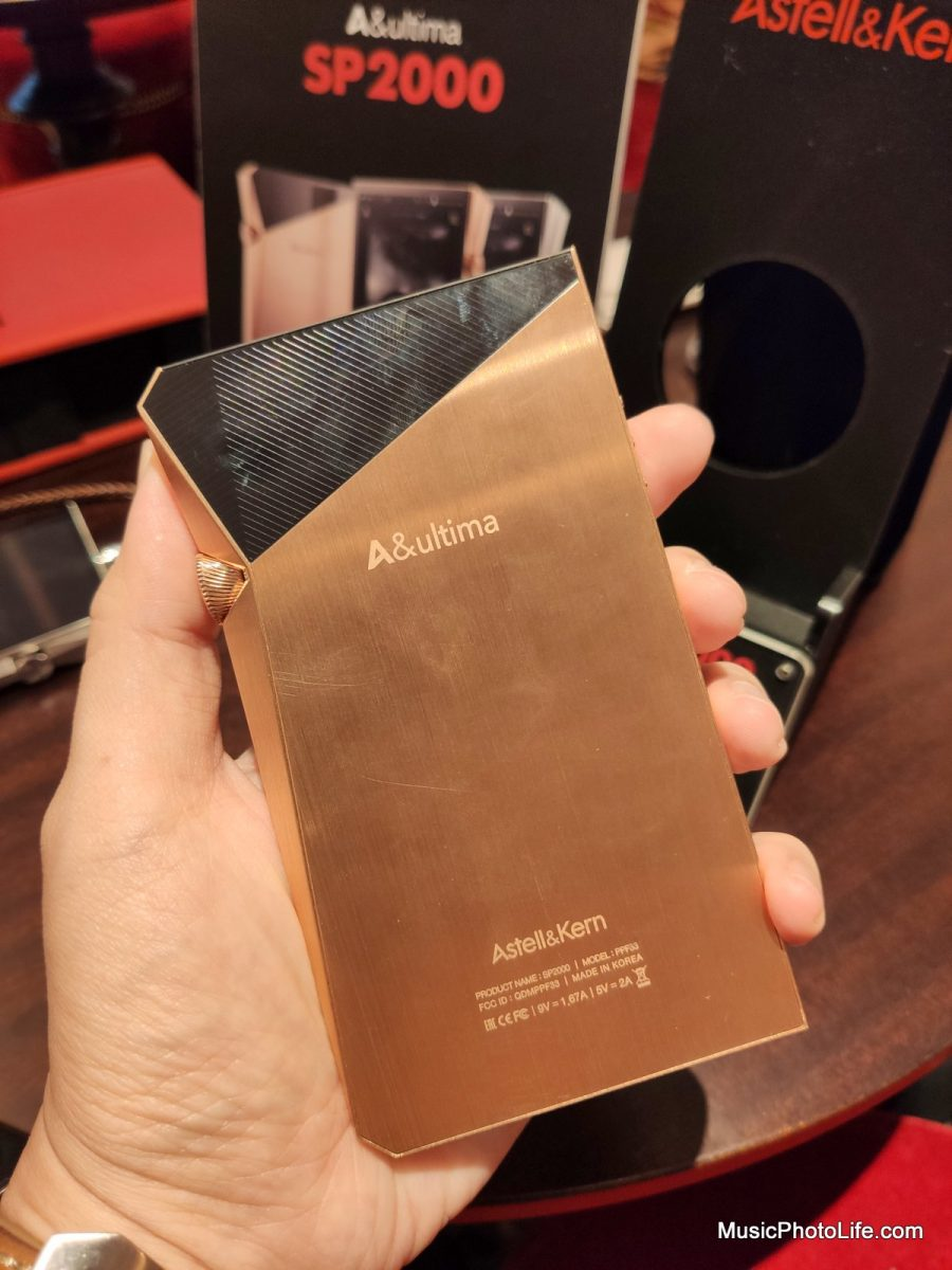 Astell & Kern A&Ultima SP2000 at Singapore launch