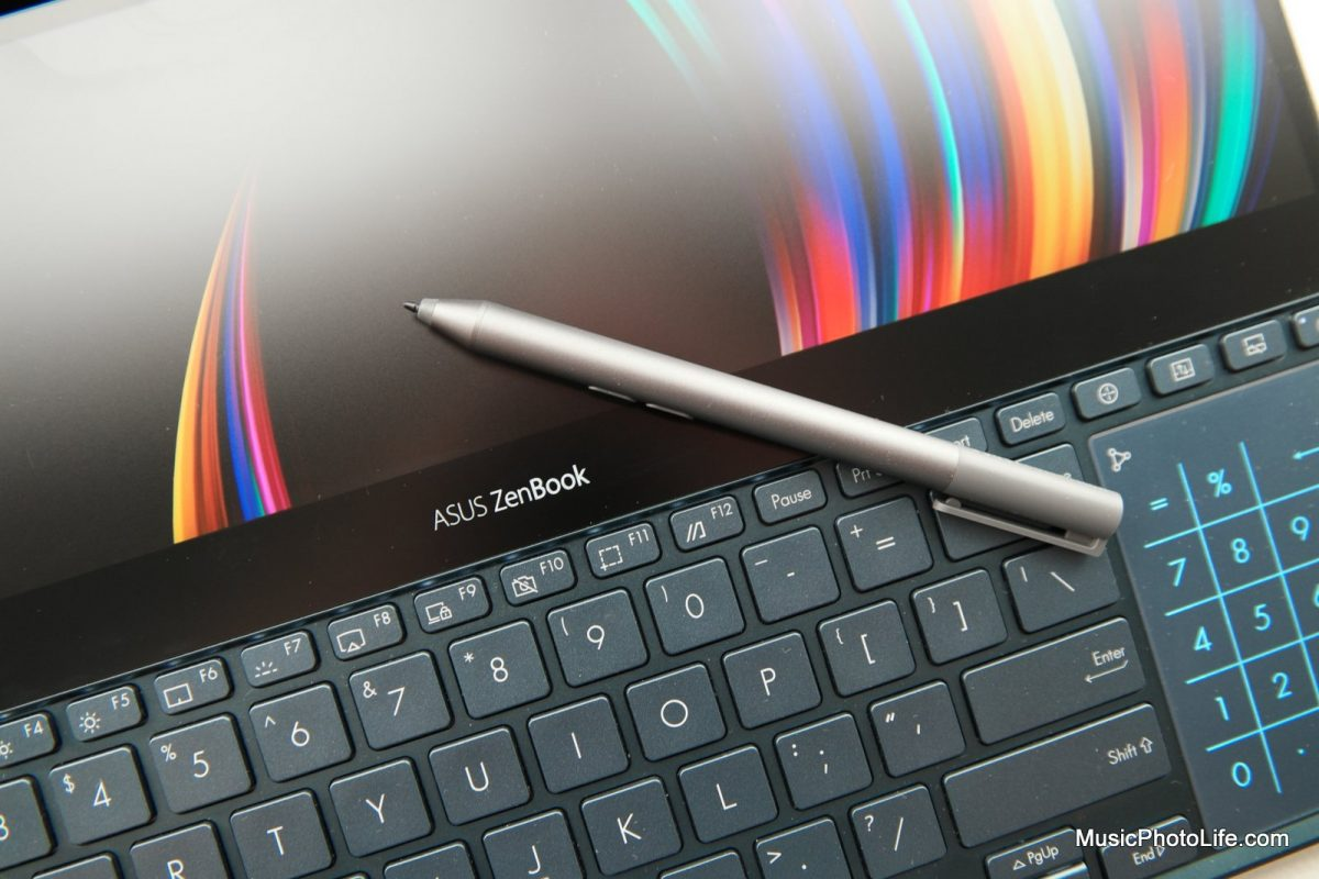 ASUS ZenBook Pro Duo UX581 review by musicphotolife.com Singapore tech blog