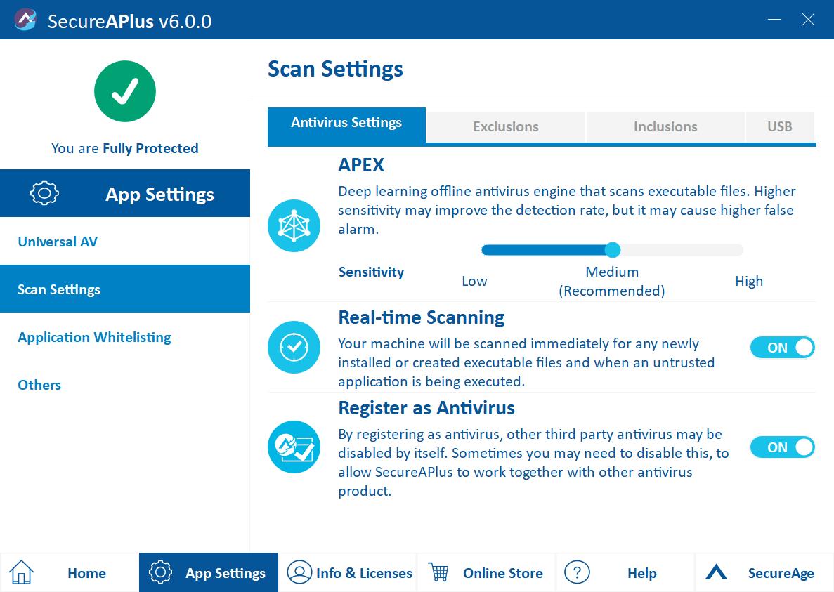 SecureAPlus Antivirus Software review by musicphotolife.com Singapore tech blog