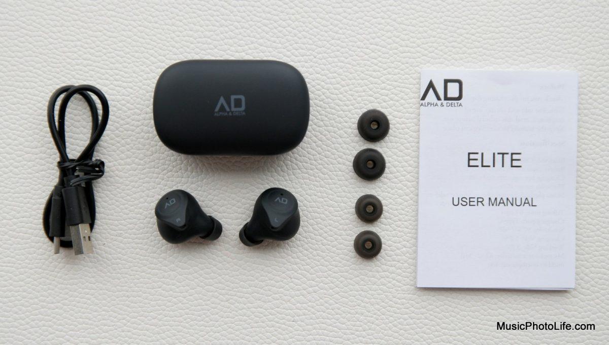 Alpha & Delta Elite True Wireless Earphones unboxing