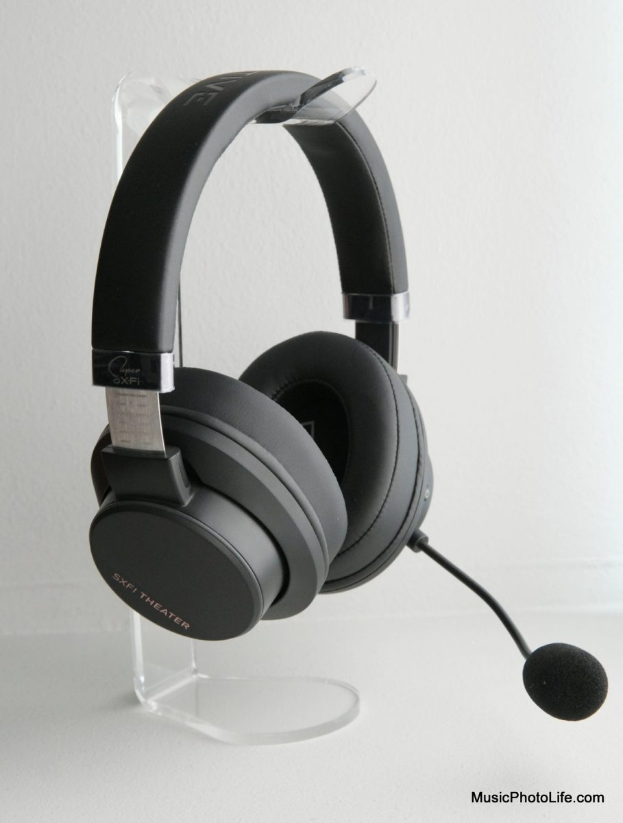 Creative SXFI Theater headphones with mic