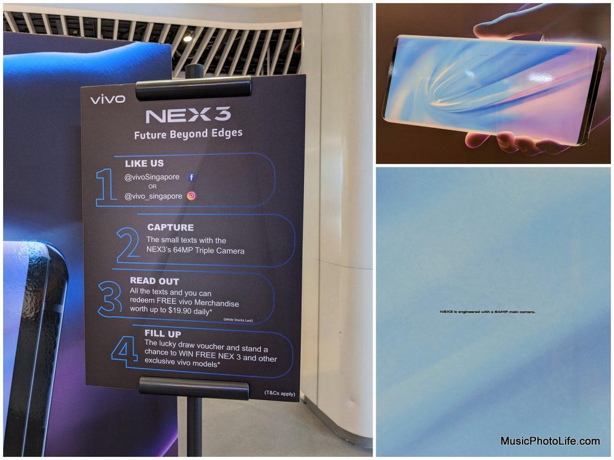 Vivo NEX 3 at Bedok Mall roadshow 6-12 Nov 2019 Contest