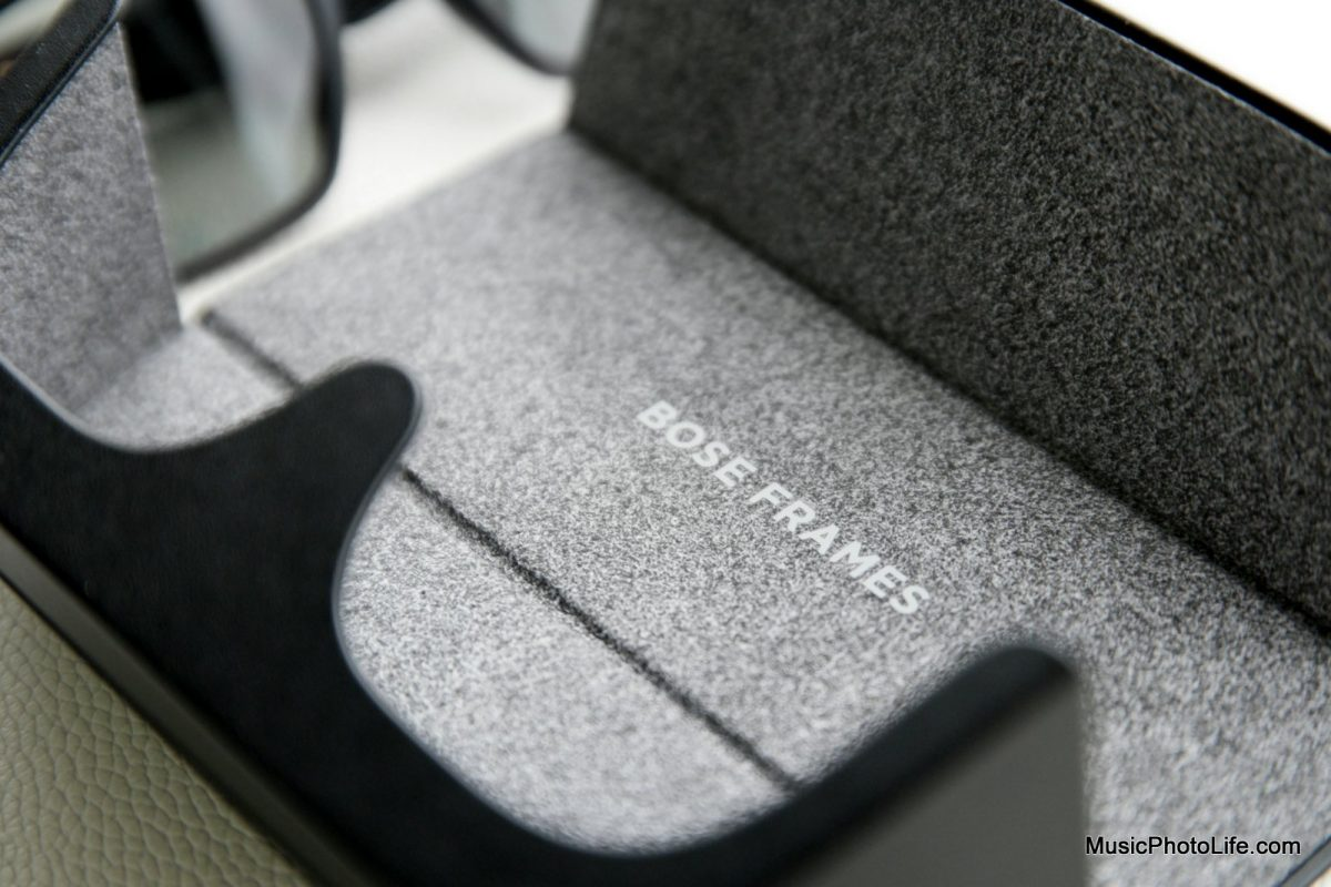 Bose Frames Alto case detail